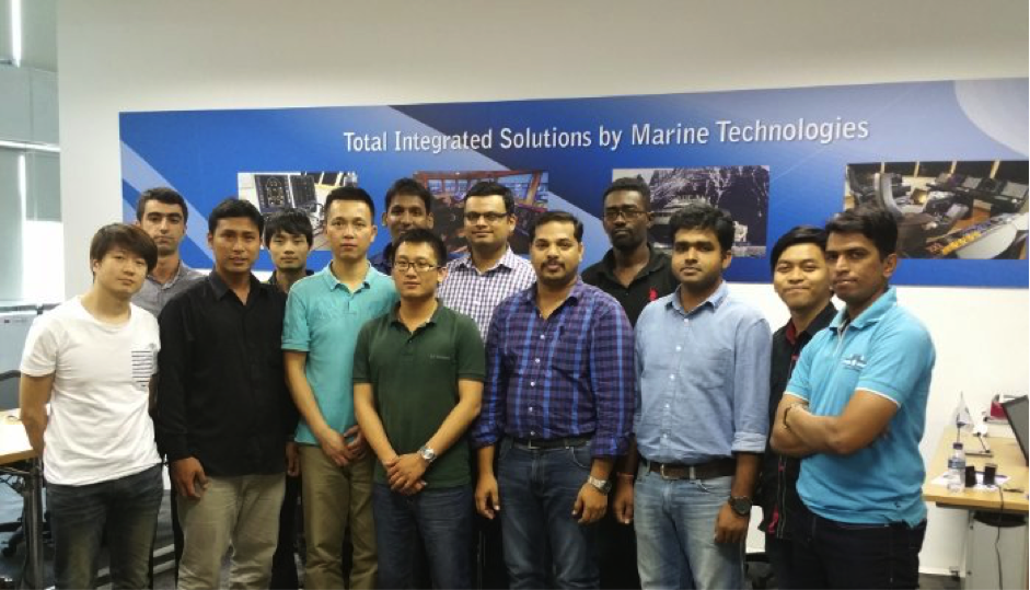 Sinor Marine Technologies Service operation in Asia and Oceania