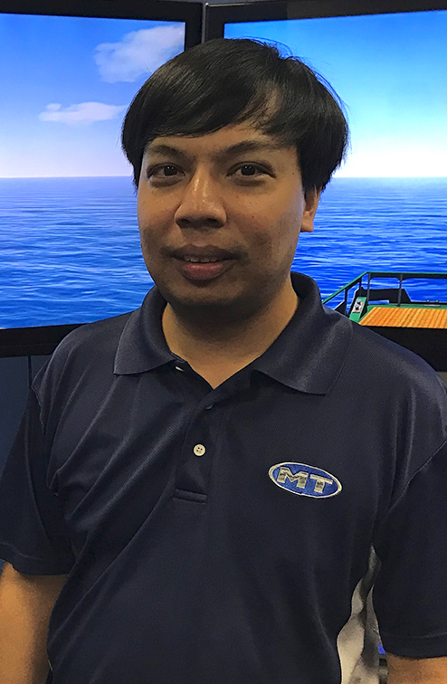 Marine Technologies Team Member Sahrin Hassan